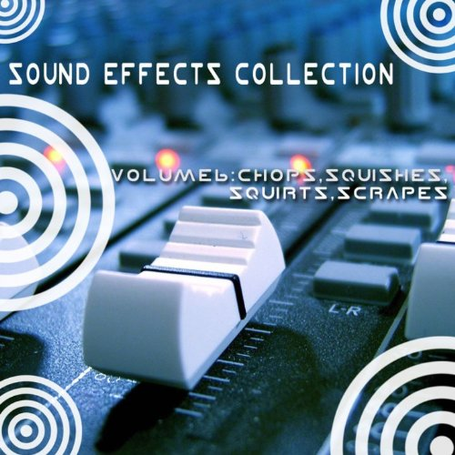 Sound Effects Collection 6 - Chops, Squishes, Squirts, Scrapes (Chop Collection)
