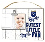 "KH Sports Fan 10""x8"" Weathered Kansas City Royals Clip It Baby Logo Photo Frame"