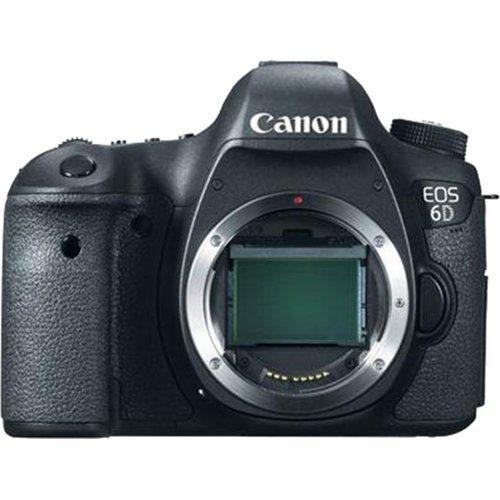 Canon EOS 6D 20.2 MP DSLR Camera Body (Renewed) (Canon Film Body)