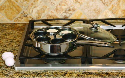 Cookpro 522 Cook Pro 522 Steel 6 Egg Poacher Non Stick