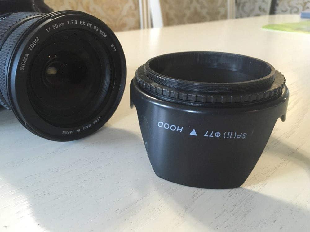 55mm Flower Lens Hood for Canon 500d 600d 60d 70d Nikon d5100 d300 d7100 d90 d80 DSLR camera