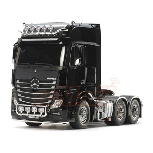 Tamiya 1/14 Tractor Trucks Mercedes Benz Actros 3363 6x4 GigaSpace EP #56348 - Mercedes Benz 4 X 4