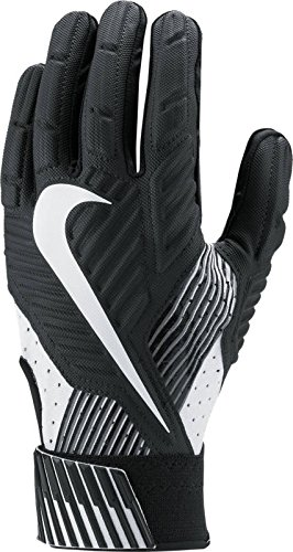 Nike Mens D-Tack 5 Padded Football Gloves Black/White GF0385 010 Size Large