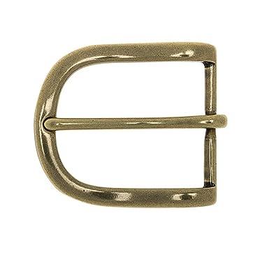8060f4da4910cf Frederic+Hermano Gürtelschnalle Buckle 35mm Metall Messing Antik - Buckle  Glasgow - Dornschliesse Für Gürtel