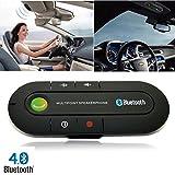 Portable Multipoint Wireless Hands-Free Bluetooth Sun Visor In-Car Speakerphone Car Kit*Black*Car Kit Visor Multipoint Wireless Bluetooth Handsfree Speakerphone Speaker Auto