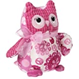 Mary Meyer Breast Cancer Awareness Owl 7″ Plush, Baby & Kids Zone