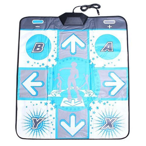 OSTENT Non-slip Dance Pad Dancing Mat for Nintendo Wii Gamecube NGC Console Dance Revolution DDR Video -