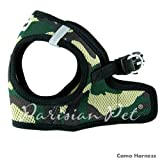 Dog Harness Soft Step-In Pet Vest, Small, Camo, My Pet Supplies