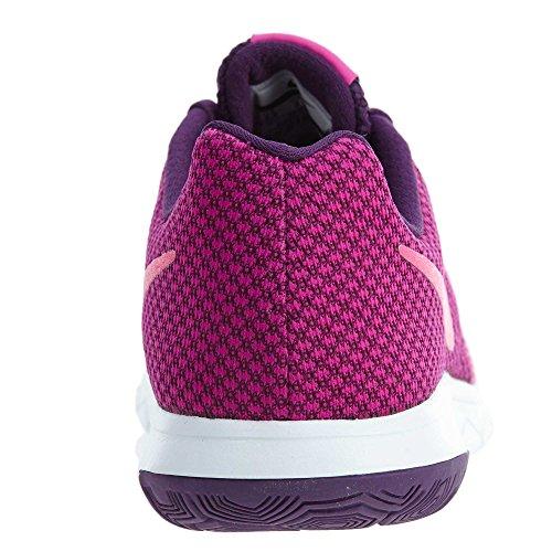 Purple maglietta Hyper white maniche donna Fire Pink v neck night Tailwind Pink Nike corte nTfq1I77z
