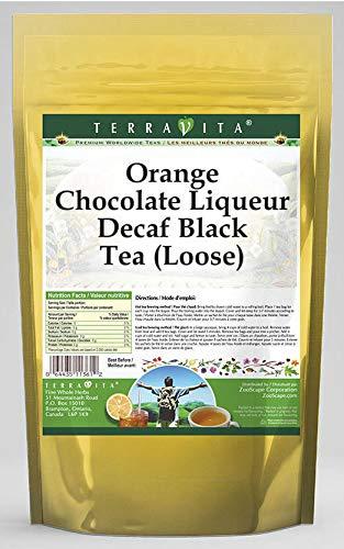 Orange Chocolate Liqueur Decaf Black Tea (Loose) (4 oz, ZIN: 540095) - 3 Pack