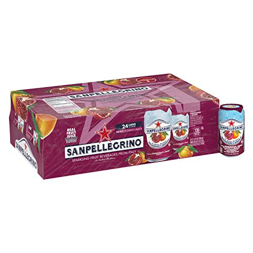 Sanpellegrino Pomegranate and Orange Sparkling Fruit Beverage, 11.15 Fl. Oz Cans (24 Count) (Best E Juice Canada)