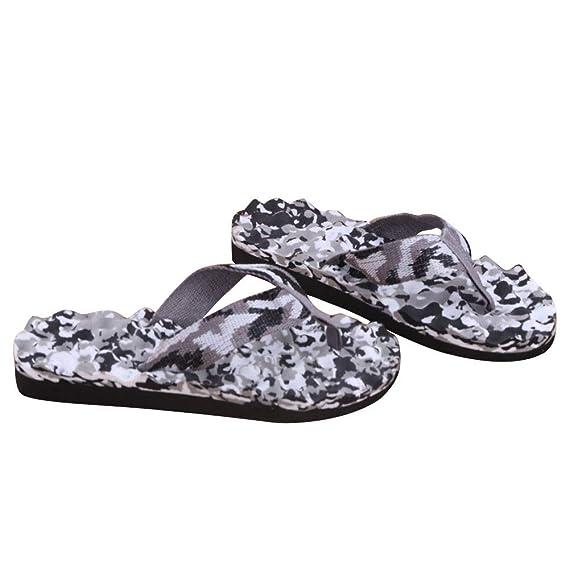 Bestow-Zapatos de hombre Zapatillas de Camuflaje Chanclas Hombre Camuflaje de Verano Chanclas Zapatos: Amazon.es: Ropa y accesorios