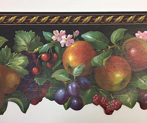 LASER CUT FRUIT Wallpaper Border Brewster 72B31416