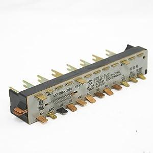 KitchenAid 4171250 Dishwasher Selector Switch Genuine Original Equipment Manufacturer (OEM) Part