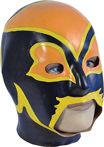 Bristol Novelties Wwe Super Star Rey Mysterio Wrestler Champion Fancy Party Cosplay Face Mask One Size Multi-Coloured by Bristol Novelties