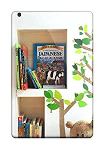 Rugged Skin Case Cover For Ipad Mini/mini 2- Eco-friendly Packaging(inset Bookshelves In Child8217s Bedroom Or Playroom Wall)