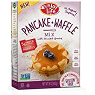 Enjoy Life Baking Mixes, Soy-free, Nut-free, Gluten-free, Dairy-free, Non-GMO, Vegan, Pancake + Waffle Mix, 16 Ounce Box