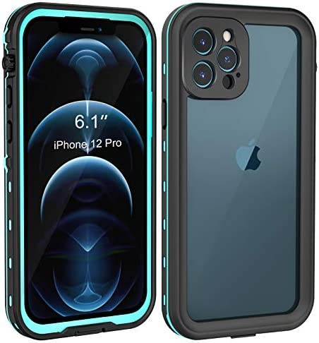 Fansteck Waterproof Case for iPhone 12 Pro (6.1 inch), IP68 Underwater Full Body Protective Waterproof/Snowproof/Shockproof/Dirtproof, High Sensitive Touch Screen for iPhone 12 Pro 2020