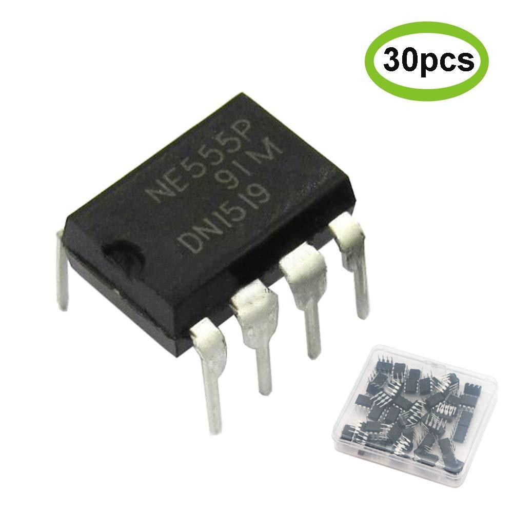Pack of 50 Pcs Ne555P Timer IC Chip DIP-8 Single Precision Timer 555 NE555