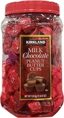 Kirkland Signature Milk Chocolate Peanut Butter Cups, 40 Ounce (Signature Milk Chocolate)