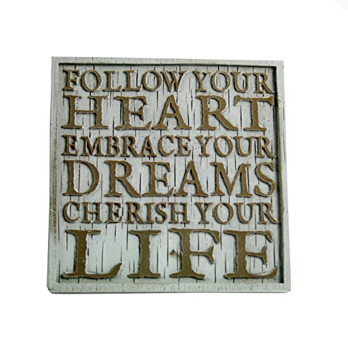 Driftwood Coasters-Follow Your Heart…
