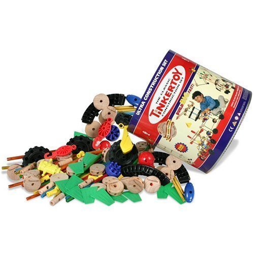 CLASSIC CONSTRUCTION TINKERTOY ULTRA 250 PC TINKER TOY