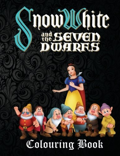 Snow White & the Seven Dwarfs Colouring Book: A lovely A4 45 page colouring book on Snow White and the Seven Dwarfs with great fun scenes to colour. Perfect for (Snow White Coloring Book)