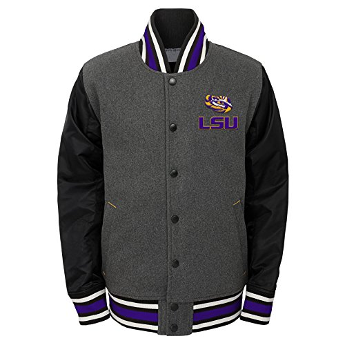 09bf6d67f Outerstuff NCAA Youth Boys Letterman Varsity Jacket