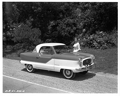 1961 Nash Metropolitan Hardtop Automobile Photo Poster
