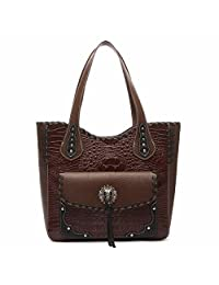Western origin Cowgirl Trendy Style Tassels Hobo Weave Totes Bag Shoulder Bag Handbag