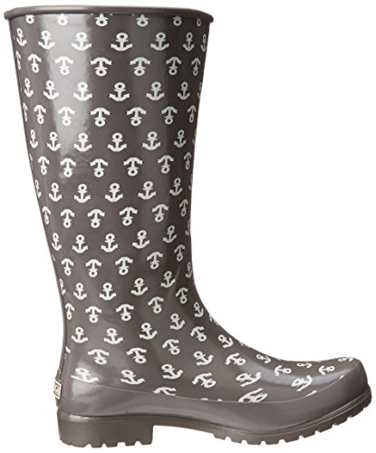 Sperry Top-Sider Women's Pelican III Rain Boot, Graphite Anchor ...