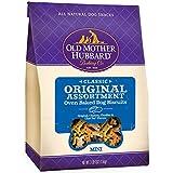 Old Mother Hubbard Classic Crunchy Natural Dog Treats, Original Assortment Mini Biscuits, 3.8-Pound Bag