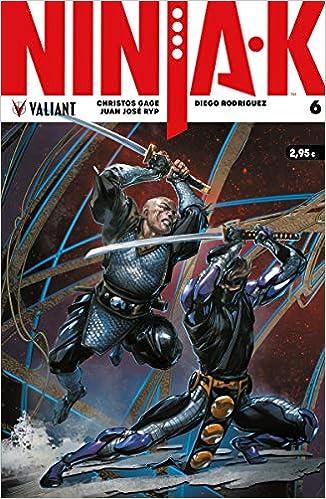 Ninja-K 6 (Valiant - Ninja-K): Amazon.es: Christos Gage ...