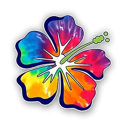 Amazoncom Hibiscus Flower Hawaiian Car Truck Window Laptop Vinyl