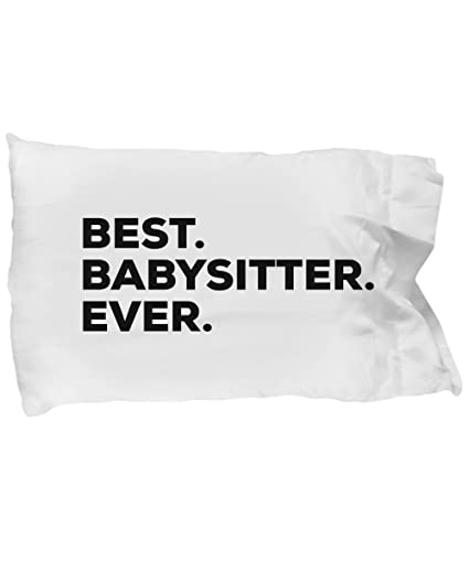 Amazon Babysitter Pillow Case