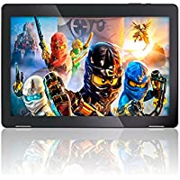 10.1' Fusion5 Android 7.0 Nougat Tablet PC - (MediaTek Quad-Core, GPS, Bluetooth 4.0, FM, 1280800 IPS Display, Google Certified Tablet PC) - Dec 2017 Release (16GB)