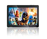 10.1' Fusion5 Android 7.0 Nougat Tablet PC - (MediaTek Quad-Core, 104B Model, GPS, Bluetooth 4.0, FM, 1280*800 IPS Display, Google Certified Tablet PC) - Dec 2017 Release (16GB)