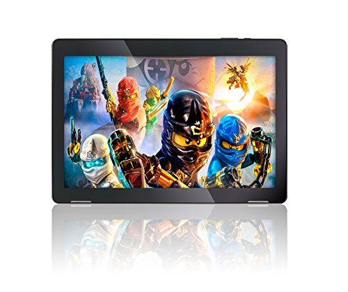 10.1″ Fusion5 Android 7.0 Nougat Tablet PC – (MediaTek Quad-Core, 104B Model, GPS, Bluetooth 4.0, FM, 1280*800 IPS Display, Google Certified Tablet PC) – Dec 2017 Release (16GB)