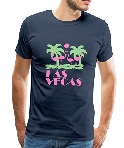 Flamingo Las Vegas - Spreadshirt Las Vegas Flamingos Men's T-Shirt, 4XL, navy