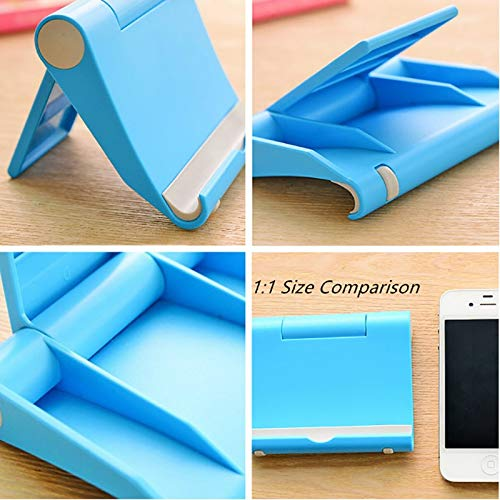 WillBest New Universal Plastic Phone Holder Stand Base Smartphone Candy Color Mobile Phone Bracket