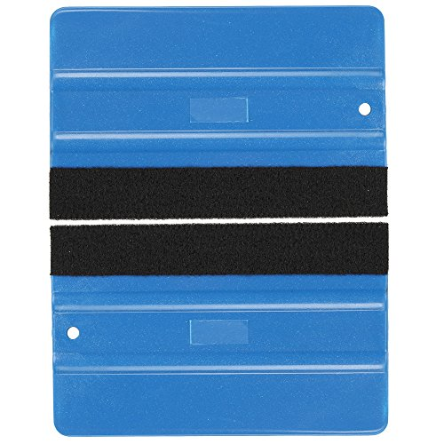 - Highmoor Vinyl Wrap Squeegee Felt Edge Decal Window Tint Wrapping Scraper Squeegee Tool for Car Vehicle Window Film Vinyl (2pc)
