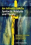 img - for An Introduction to Syntactic Analysis and Theory book / textbook / text book