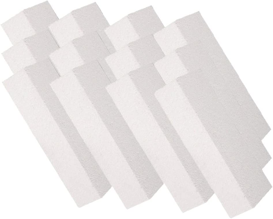 """Insulating FireBrick 2500F 0.75"""" x 4.5"""" x 9"""" IFB Box of 12 Fire Bricks for Fireplaces, Pizza Ovens, Kilns, Forges"""