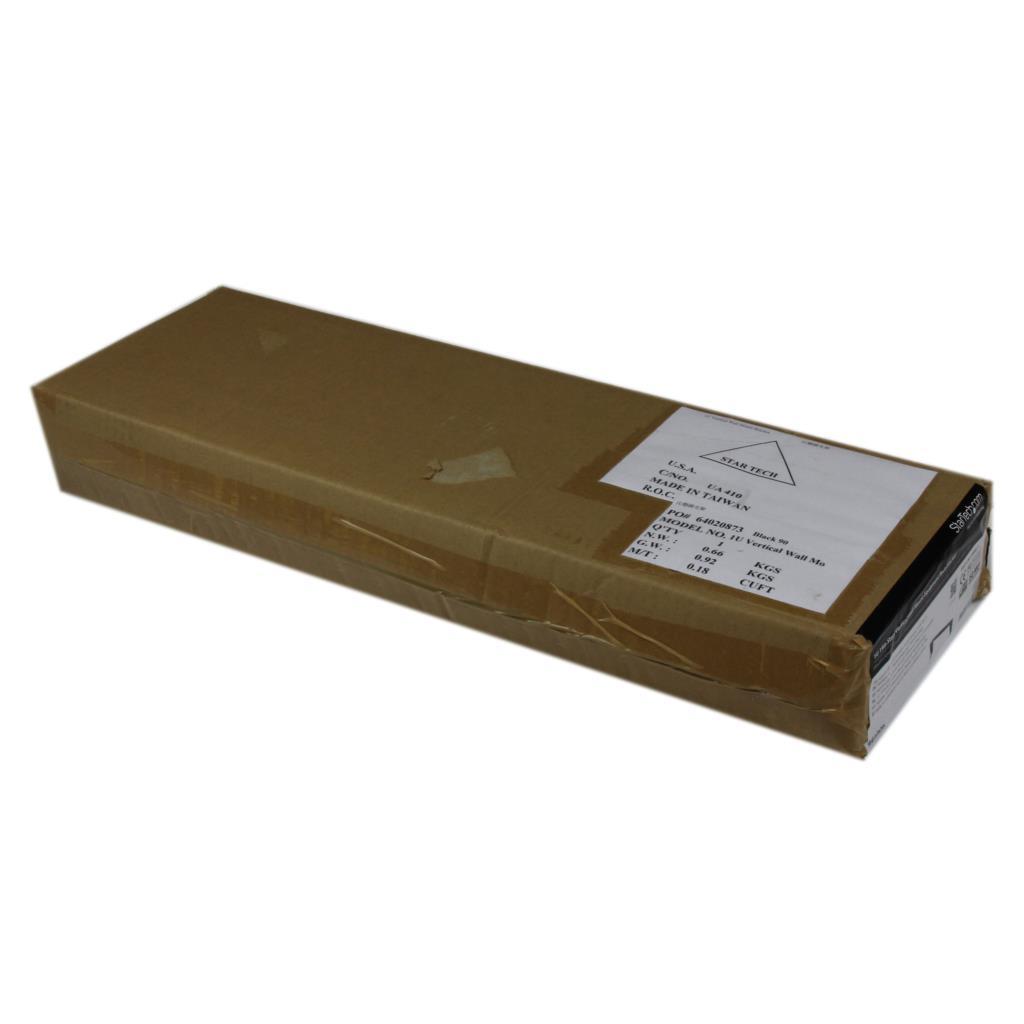 Amazon Com Startech Rk119wallv 1u 19 Inch Steel Vertical