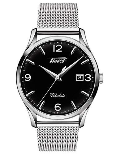 Tissot Men's Heritage Visodate - T1184101105700 Silver/Black One Size