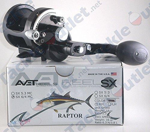 Trolling Avet Reel (AVET Raptor Dual Drag Reel with Magnetic Cast Control, Black)