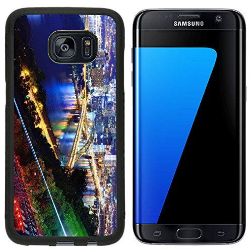 MSD Premium Samsung Galaxy S7 Edge Aluminum Backplate Bumper Snap Case PITTSBURGH AUGUST 7 PNC Park August 7 2012 in Pittsburgh PA Opened IMAGE 19770028