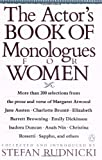 The Actor's Book of Monologues for Women, Various, 0140157875