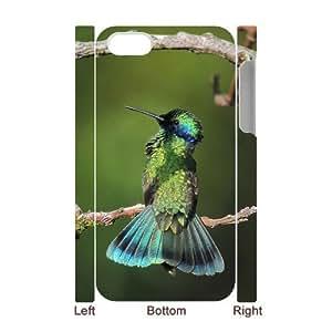 QSWHXN Diy hard Case Hummingbird customized 3D case For Iphone 4/4s