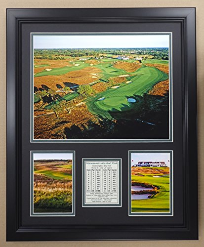 Legends Never Die PGA Shinnecock Hills Golf Club Double Matted Photo Frame, 18